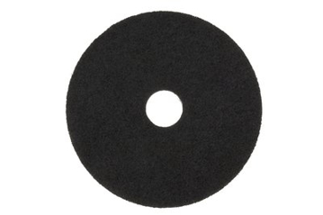 "Picture of 17"" Black 3M Stripping Pads 7200"
