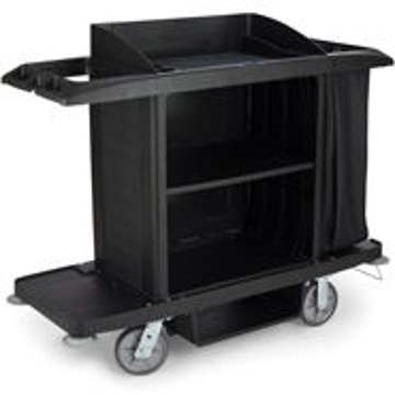 Picture of Rubbermaid 6189 Full Size Housekeeping Cart