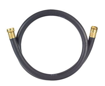 "Picture of Rubber Utility Hose - 5/8"" x 4'"