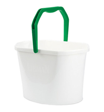 "Picture of Libman Oval Utility Bucket 3.5 gallon, 13 Quart 16"" long, 10"" wide (White)"