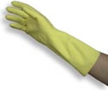 Picture of Natural Latex Rubber Gloves - Medium