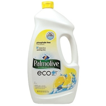 Picture of Palmolive eco+ Dishwashing Liquid, Lemon Scent - 75 ounce