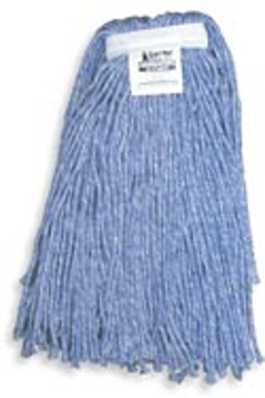 Picture of O'Cedar Commercial MaxiClean Cut-End Wet Mop - #20 Blue Synthetic Blend