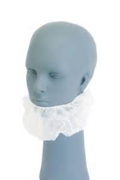 Picture of White Polpropylene Beard Cover  100 pieces per pkg
