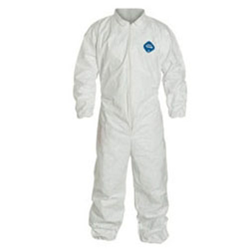 Picture of White Microporous Film Coverall Large