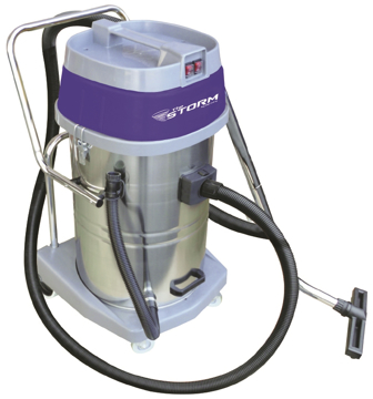 Picture of Mercury Storm 20-Gallon Chromed Stainless Steel Wet/Dry Vacuum