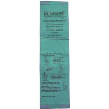 Picture of Bissell BigGreen Commercial U8000-PK10 Vacuum Bags (10 Pack)
