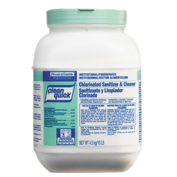 Picture of Clean Quick® Chlorine Sanitizer and Cleaner - 10lb