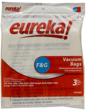 Picture of Eureka Style F&G Bags - 3 Pack - Genuine - 52320C-6 - Extended Lead Time from Vendor Use MF-3