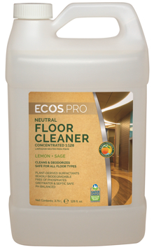Picture of ECOS PRO™ Neutral Floor Cleaner, 1:128 Concentrate 4/1 Gallon Bottles