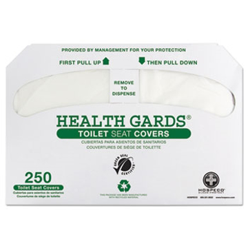 Picture of Hospital Specialty Co. Health Gards® Recycled Toilet Seat Covers