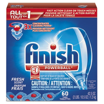 Picture of Finish® All in 1 Powerball® Tabs 60 Tabs