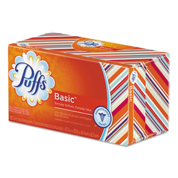 Picture of Puffs® White Facial Tissue