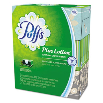 Picture of Puffs® Plus Lotion Facial Tissue