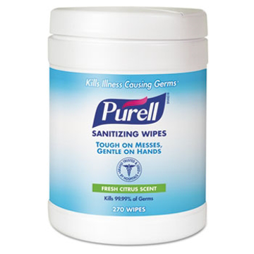 Picture of PURELL® Sanitizing Wipes 270 count Canister