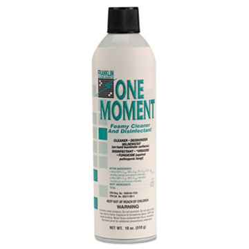 Picture of Franklin Cleaning Technology® One Moment Foamy Cleaner and Disinfectant 18 OZ