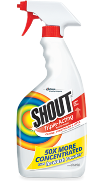 Picture of SHOUT® TRIGGER Triple-Acting Stain Remover 22 ounce