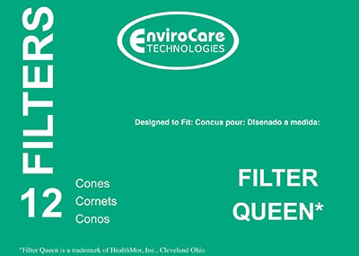 Picture of FilterQueen Paper Cones - 12 pack - After Market