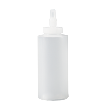 Picture of 12 oz HDPE Plastic Bottle With Ribbon Applicator Tip