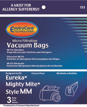 Picture of Eureka Style MM Micro Filtration Bags - 3 Pack - After Market - 60295C-6