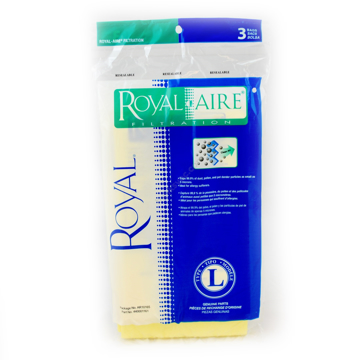 Picture of Royal Aire Filtration Bags - Type L Allergen, Top Fill, 3 Pack - AR10165