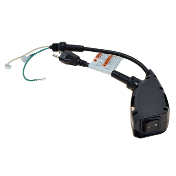 Picture of ProTeam Switch and Power Cord Assembly - 834037