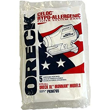 Picture of Oreck  Paper Bags - XL Ironman, Hypoallergenic - Genuine    - PKIM76-5