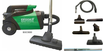 Picture of Bissell BigGreen Commercial Lightweight Canister Vacuum