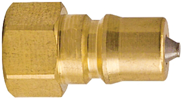 "Picture of 1/4"" Male Brass Quick Disconnect Coupler"