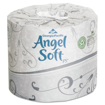 Picture of Georgia Pacific Angel Soft Premium Bathroom Tissue, 2 Ply, 450 Sheets/Roll, 40 Rolls/Carton