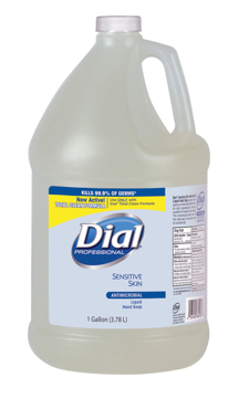 Picture of Dial Professional Antimicrobial Soap for Sensitive Skin, Floral - 1 Gallon