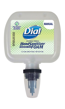 Picture of Dial Hand Sanitizer Foam DUO Dispenser Refill - Manual - 1.2 Liter