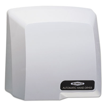 Picture of Bobrick Washroom Compact Automatic Hand Dryer, 115V, Gray - 710
