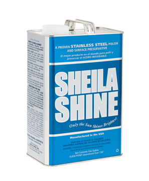 Picture of Sheila Shine Stainless Steel Cleaner & Polish - 1 Gallon