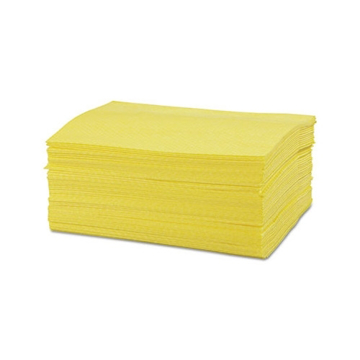 """Picture of Chicopee Masslinn Dust Cloths, 24"""" x 16"""", Yellow - 50 Count"""