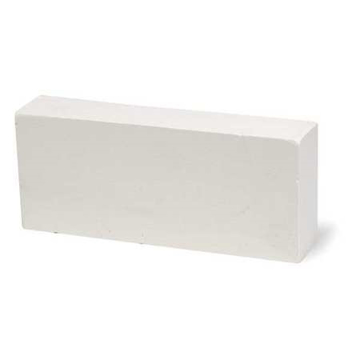 "Picture of Diamond D Brush Seating and Cleaning Stone, 4-3/4"" x 1/2"" x 1/4"", Medium Soft (4/Box)"