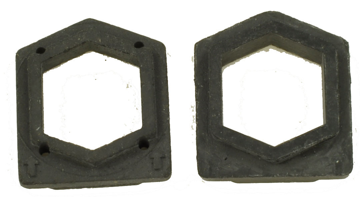 Picture of Sanitaire Vac Rubber Hex End Caps - Aftermarket