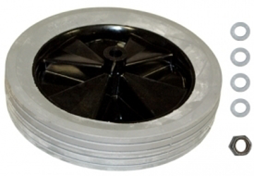 "Picture of Rubbermaid 12"" Wheel for the 3/4 cubic yard Tilt Truck Utility - FG1011L10000"