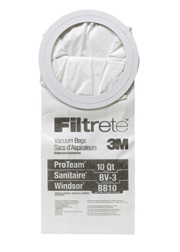 Picture of Filtrete 3M ProTeam 10Qt / Sanitaire BV-3 / Windsor BB10 Micro Allergen Bag - 5 Pack