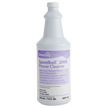 Picture of Diversey Speedball 2000 Non-Butyl Power Cleaner Degreaser - 1 Qt