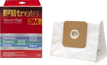 Picture of Filtrete 3M Electrolux Central Vacuum / Kenmore Central Vacuum / Eureka CV-2 Synthetic Bag (3 Pack) - 68722