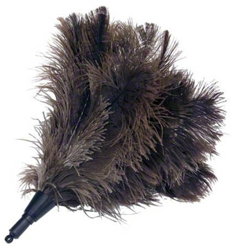 "Picture of 15"" Commercial Feather Duster Extension Head for Threaded Pole"