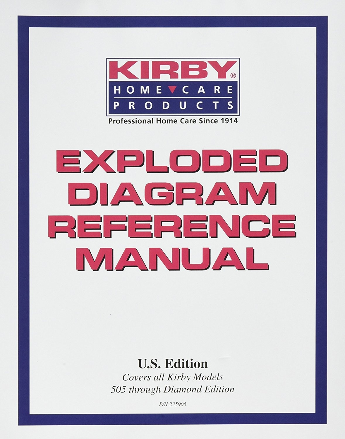 Hesco Inc  Kirby Exploded Diagram Reference Manual