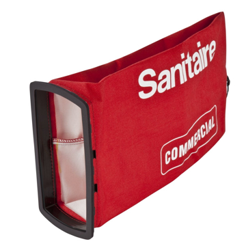 Picture of Sanitaire Bag Assembly Red (Dirt Cup) - 54422-10