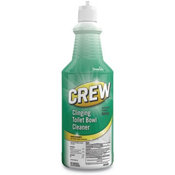 Picture of Diversey Crew Clinging Toilet Bowl Cleaner, Fresh Scent - 32 oz Squeeze Bottle