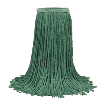 Picture of O'Cedar Commercial MaxiClean Cut-End Wet Mop - #24 Green Synthetic Blend