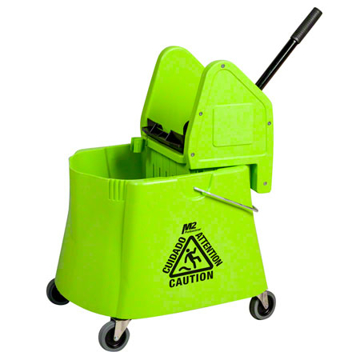 Picture of Elephant Foot Downpress Bucket & Wringer Combo, 40 Quart, Green