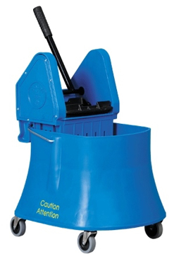 Picture of Vileda Downpress Bucket & Wringer Combo - 40 Quart