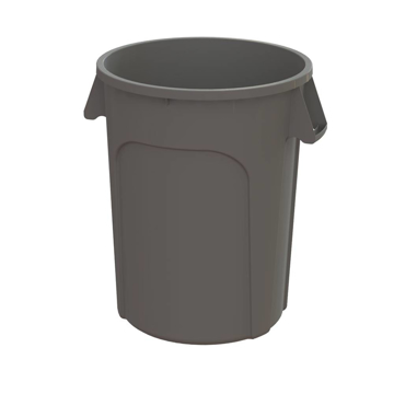 Picture of M2 Professional 20-Gallon Waste Container - Gray (Each)