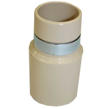 "Picture of Central Vacuum Hose Wall Adapter - 1-1/4"" Fittings"